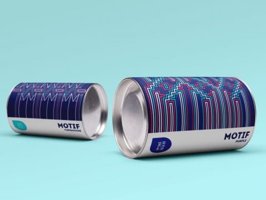 布纹漆包装设计