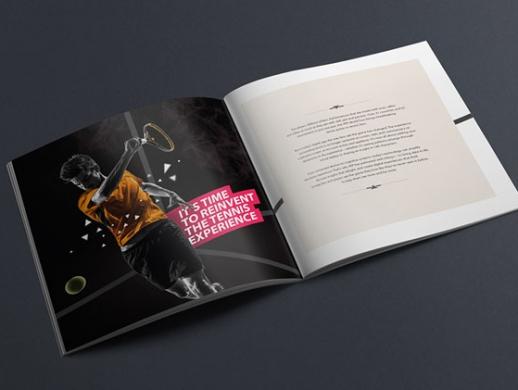 体育用品公司画册设计