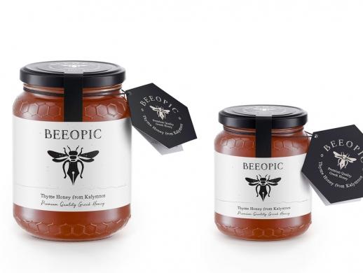 一套高端典雅的蜂蜜包装设计