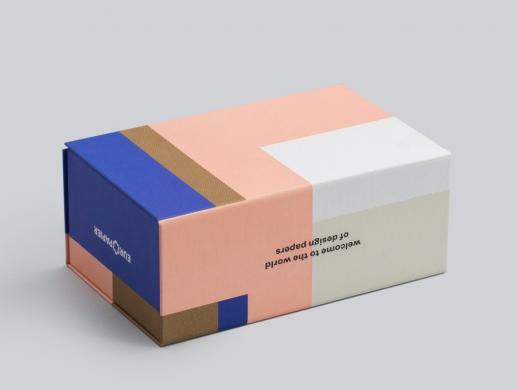 印厂色卡和色卡包装盒设计