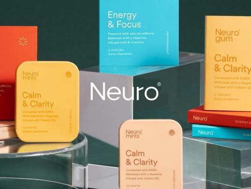 一套维生素含片药盒包装设计