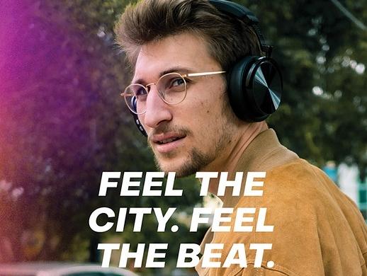 发烧友耳机店宣传海报设计