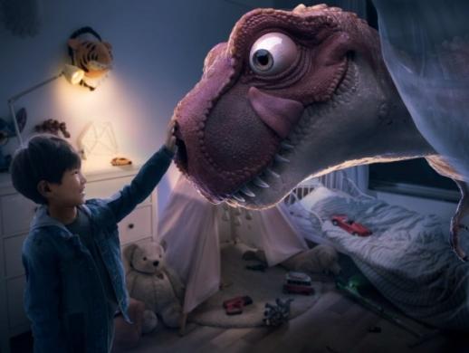 奇幻场景,在PS中合成小男孩和恐龙合影