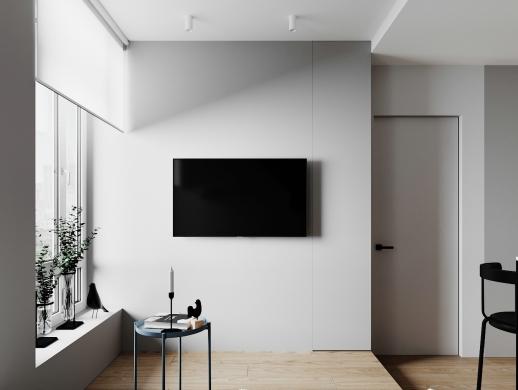 一居室单身公寓室内设计