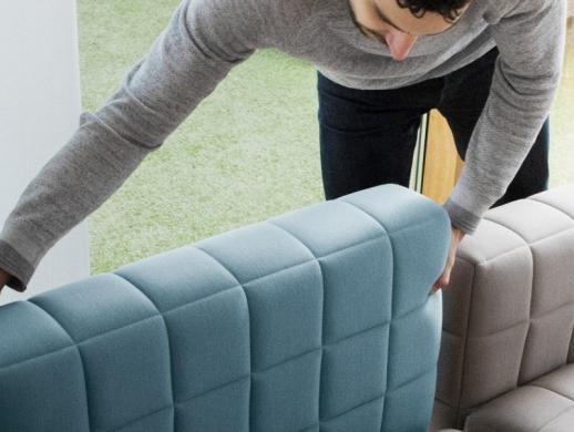简约风格的模块化沙发工业设计