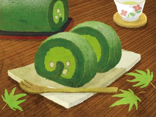 16款手绘插画美食作品欣赏