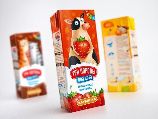 儿童牛奶包装盒设计