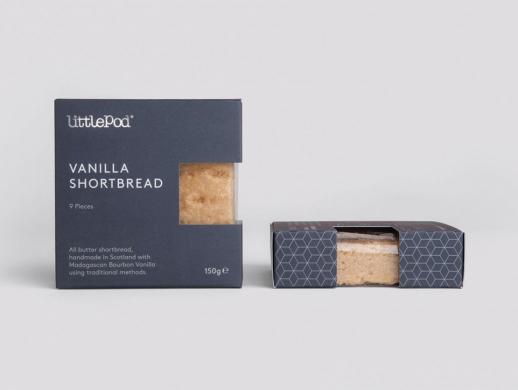极简风格饼干包装盒设计
