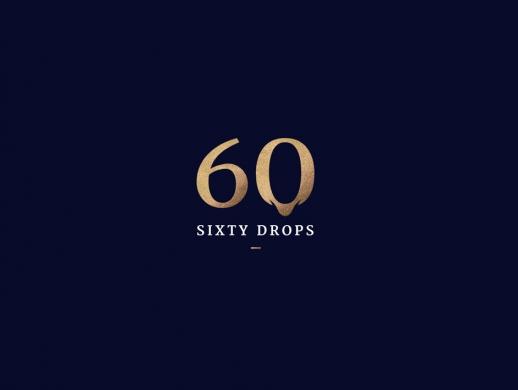 60周年纪念版品牌红酒包装设计