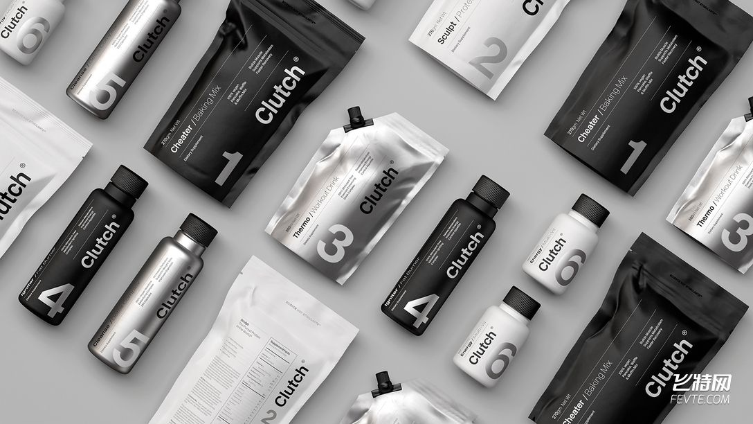 健身保健品包装设计 飞特网 药品包装设计