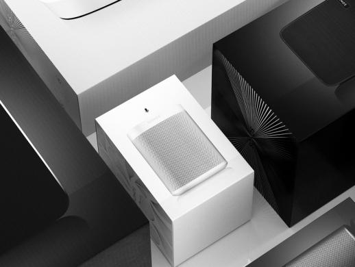 智能音箱包装盒设计