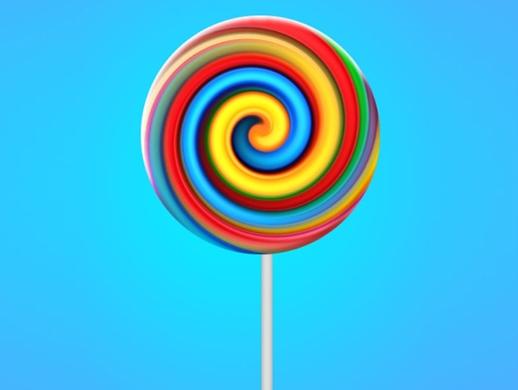 ps教程小技巧如何做真实的棒棒糖?
