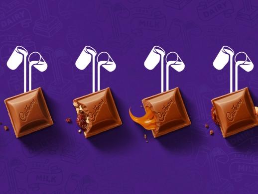 一套巧克力包装设计