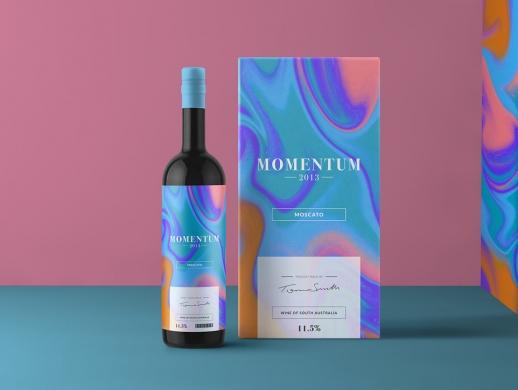 五套艺术感极强的红酒包装设计