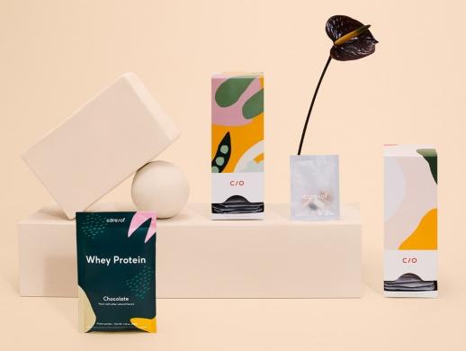 柔美风格女性养颜药品包装设计