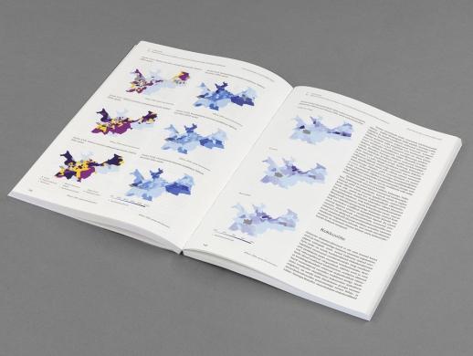 人类学研究画册版式设计