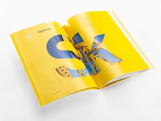 能源开发公司画册设计