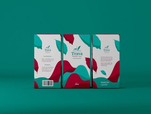 乌龙茶茶叶盒包装设计