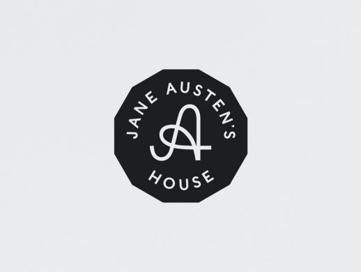 简·奥斯丁故居品牌标志设计