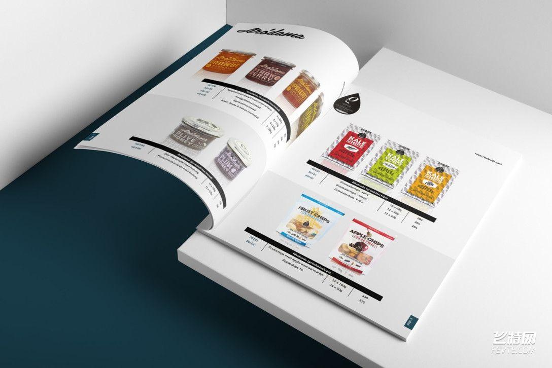 美食公司品牌VI设计 飞特网 VI设计