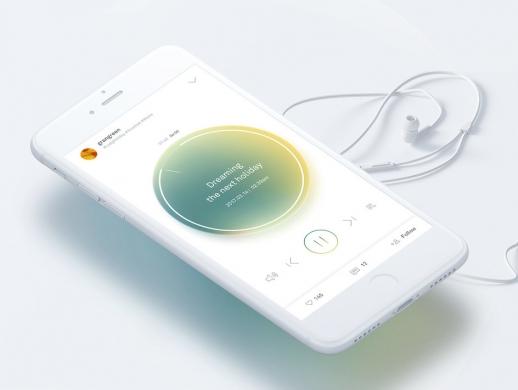 音乐APP UI设计