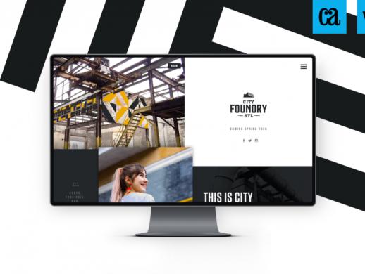 钢铁厂网站UI设计