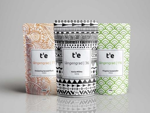 一套创意出口茶叶包装设计