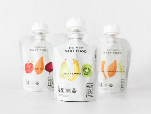 有机婴儿食品包装设计