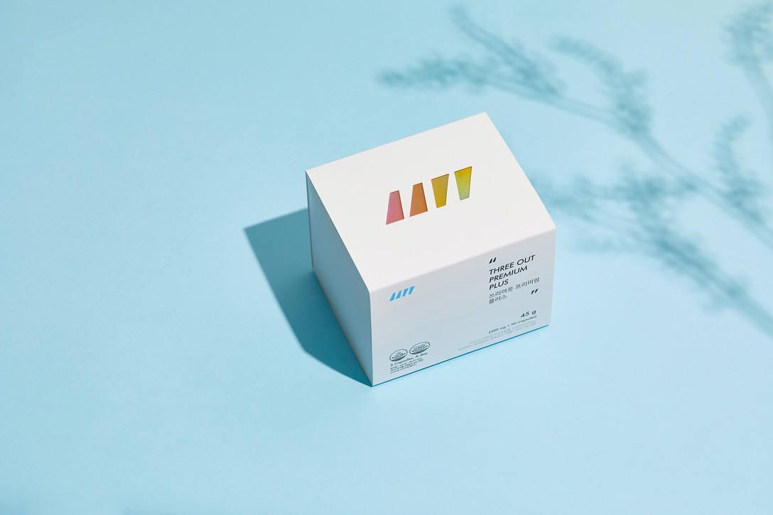 简约风格粉末药品包装设计 飞特网 药品包装设计