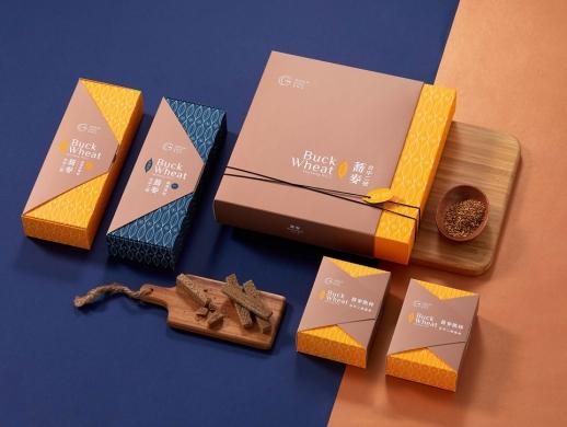 荞麦饼包装盒设计