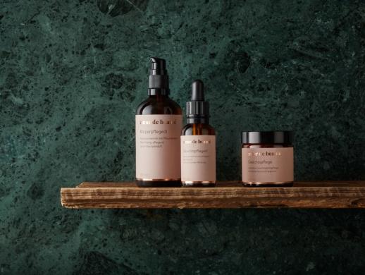 高品质天然风化妆品包装设计