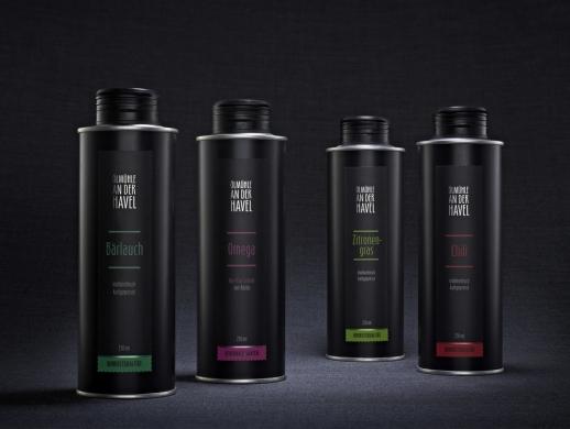 高端食用油品牌包装设计
