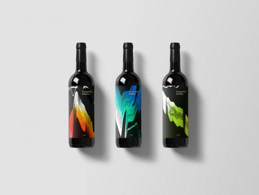 26套紅酒酒標設計