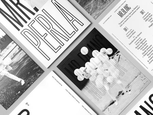 BlancFestival画册设计