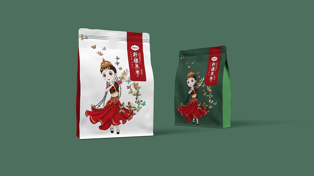 [疆域名珠]新疆大枣包装设计