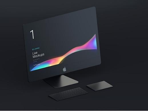 分享一套电子产品Apple设备样机样机