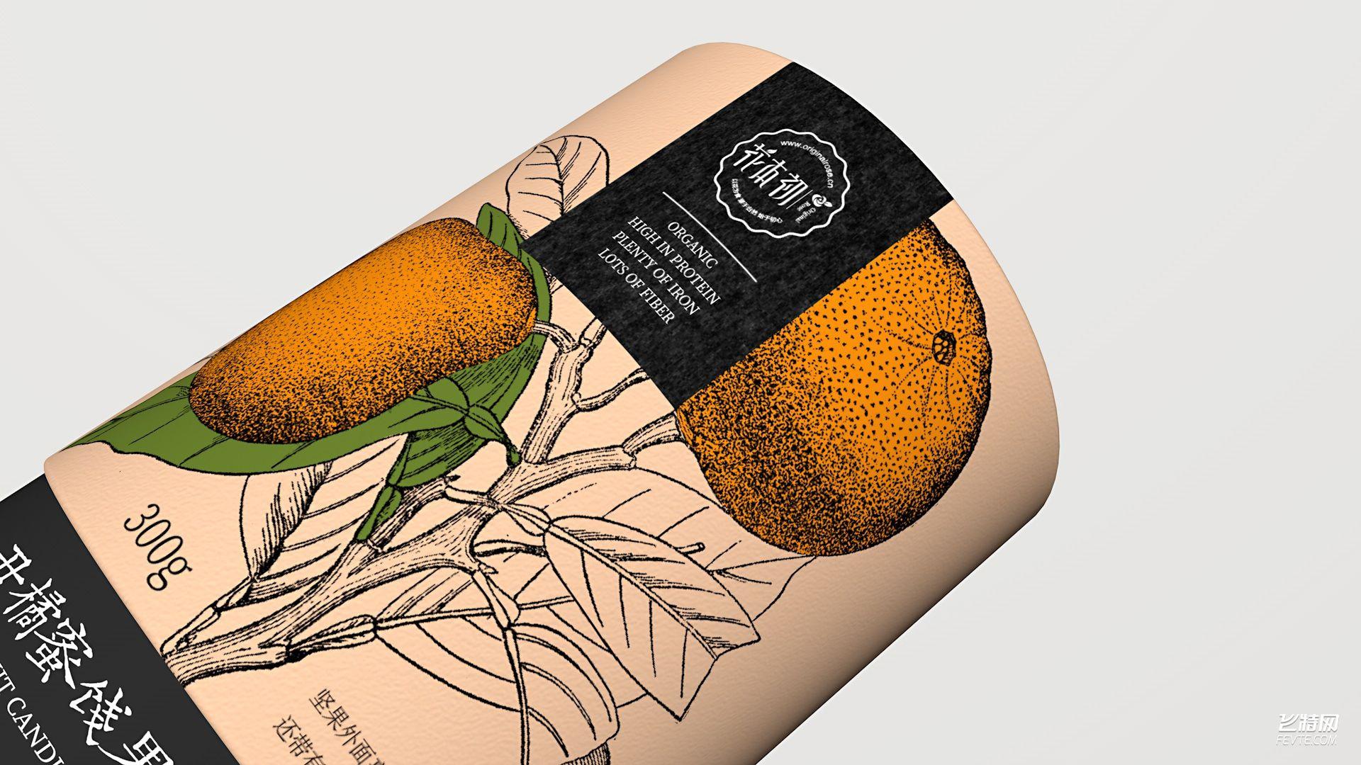 蜜饯果包装设计 飞特网 食品包装设计