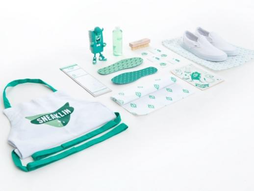 特效洗鞋液品牌包装设计