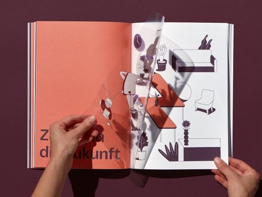 一本企业年报画册设计