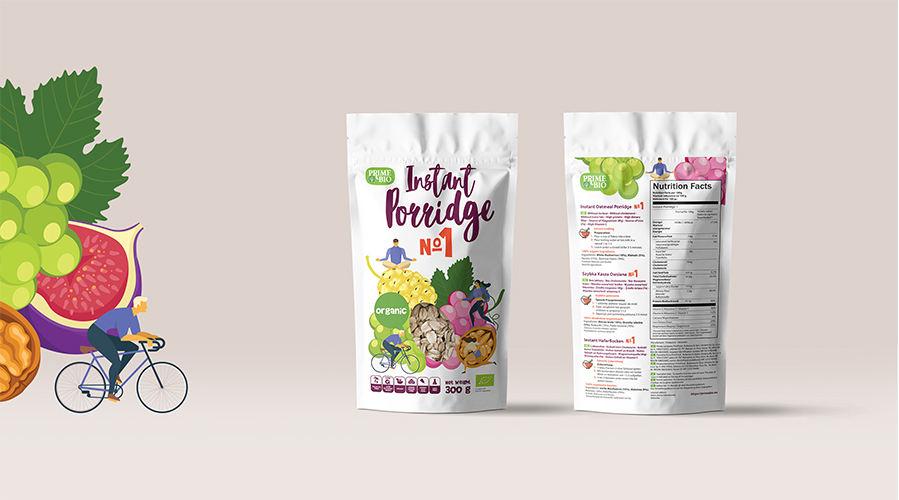 小清新风格果干包装设计 飞特网 食品包装设计