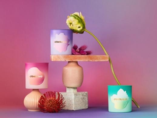 清新风格香薰蜡烛包装设计
