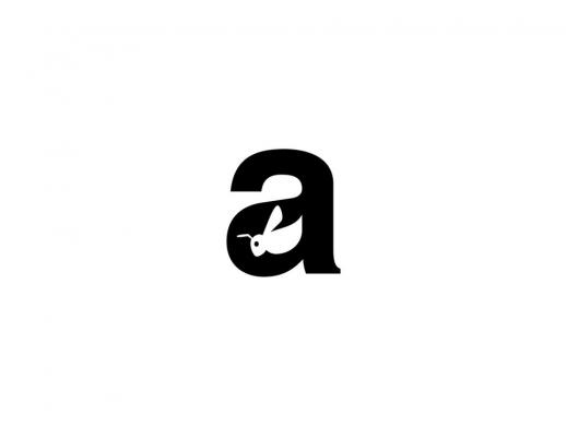 14款创意动物元素和字母结合LOGO设计