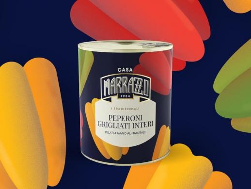 一套水果罐头包装设计