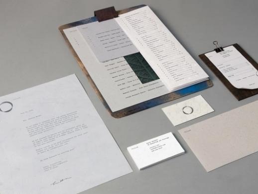 朴素风格西餐厅VI设计
