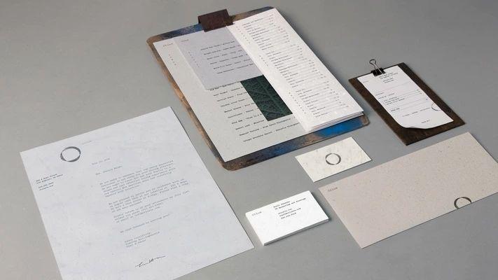 朴素风格西餐厅VI设计 飞特网 VI设计