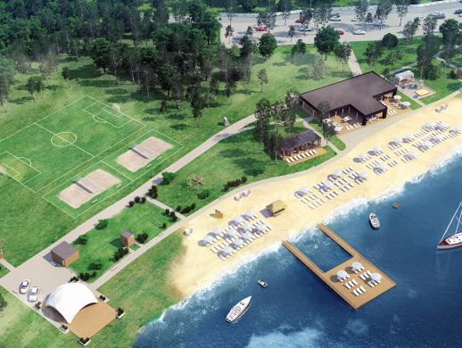 海滩度假酒店品牌VI设计
