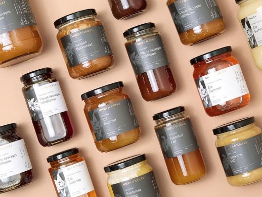 高品质加拿大进口蜂蜜包装设计