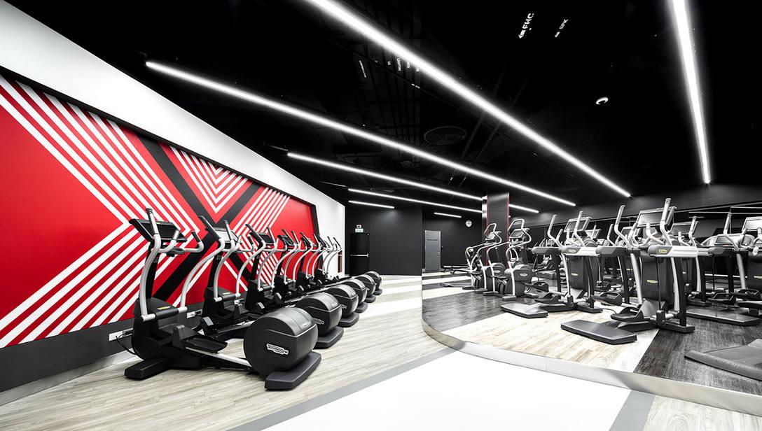 15款健身房室内空间设计 飞特网 室内设计