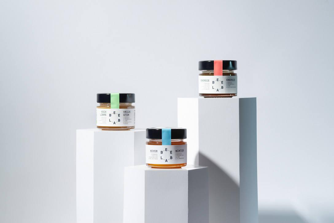 BEE LAB蜂蜜品牌包装设计 飞特网 食品包装设计