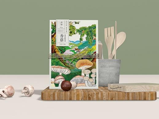 乐作野生菌与炖汤料包装设计